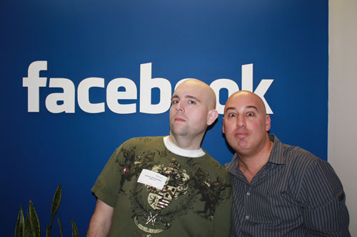 dk and Shoe at facebook